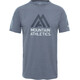 The North Face M's Wicker Graphic Crew Shirt Mid Grey Heather/Asphalt Grey